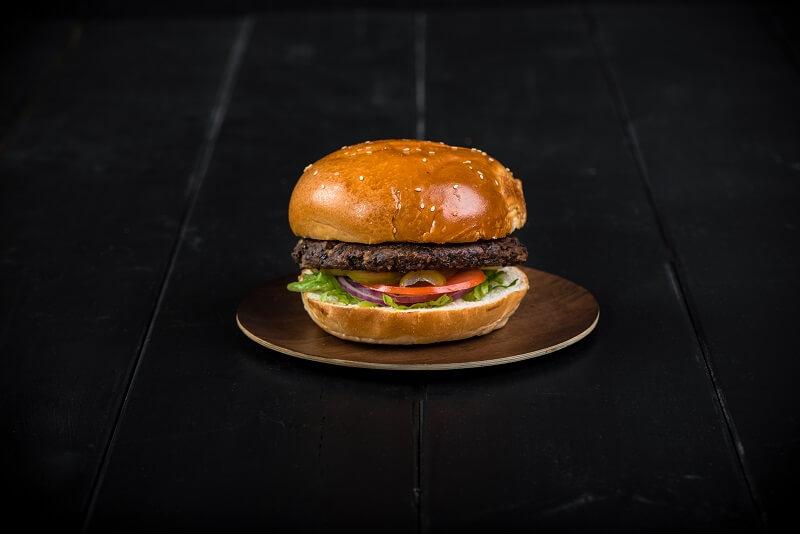 מסעדת הפסאז׳ בשדרות המבורגר צמחוני