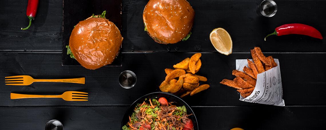 מסעדת המבורגר הפסאז' שדרות